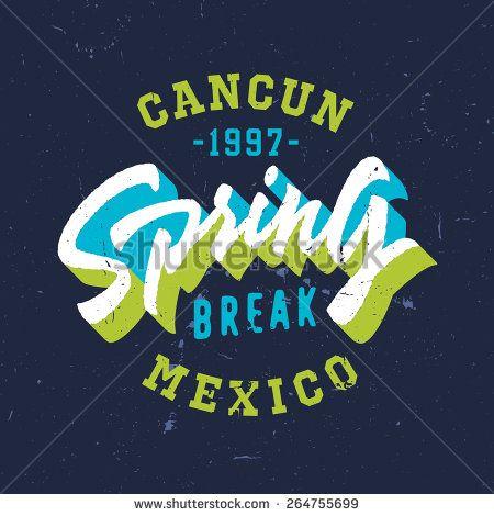 Cancun Stock Vectors Vector Clip Art Shutterstock T Shirts