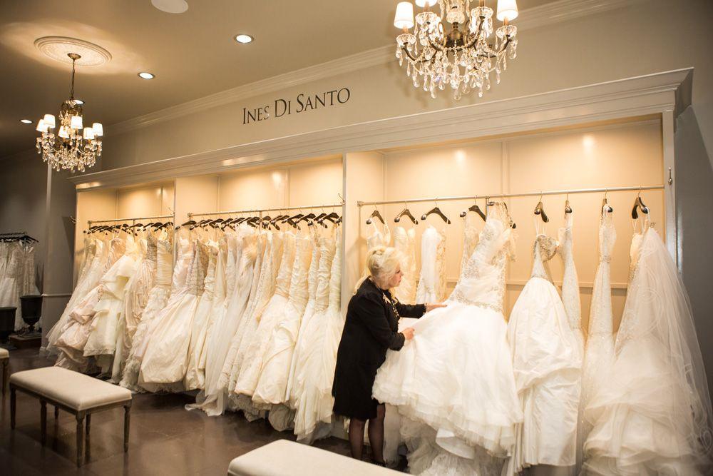 29 Designer Ines Di Santo At Flagship Salon Bridal