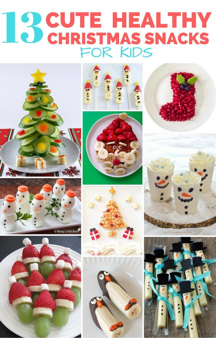 13 Cute And Healthy Christmas Snacks For Kids Healthy Christmas Snacks Christmas Snacks Healthy Christmas Treats