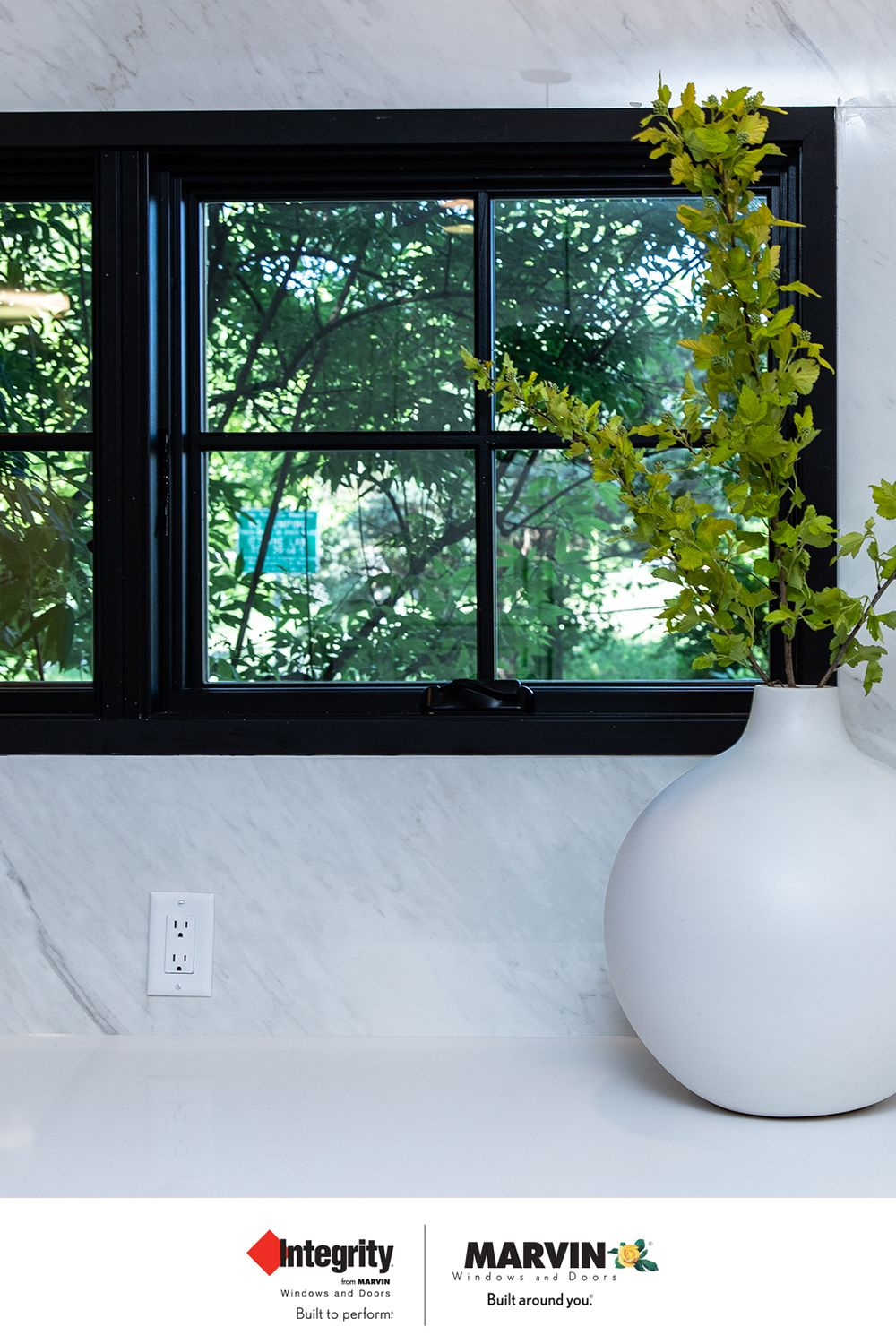 As Featured On Property Brothers Buying Selling Make A Bold Transformation With The New Black Painted Interior F Windows Interior Windows Windows And Doors