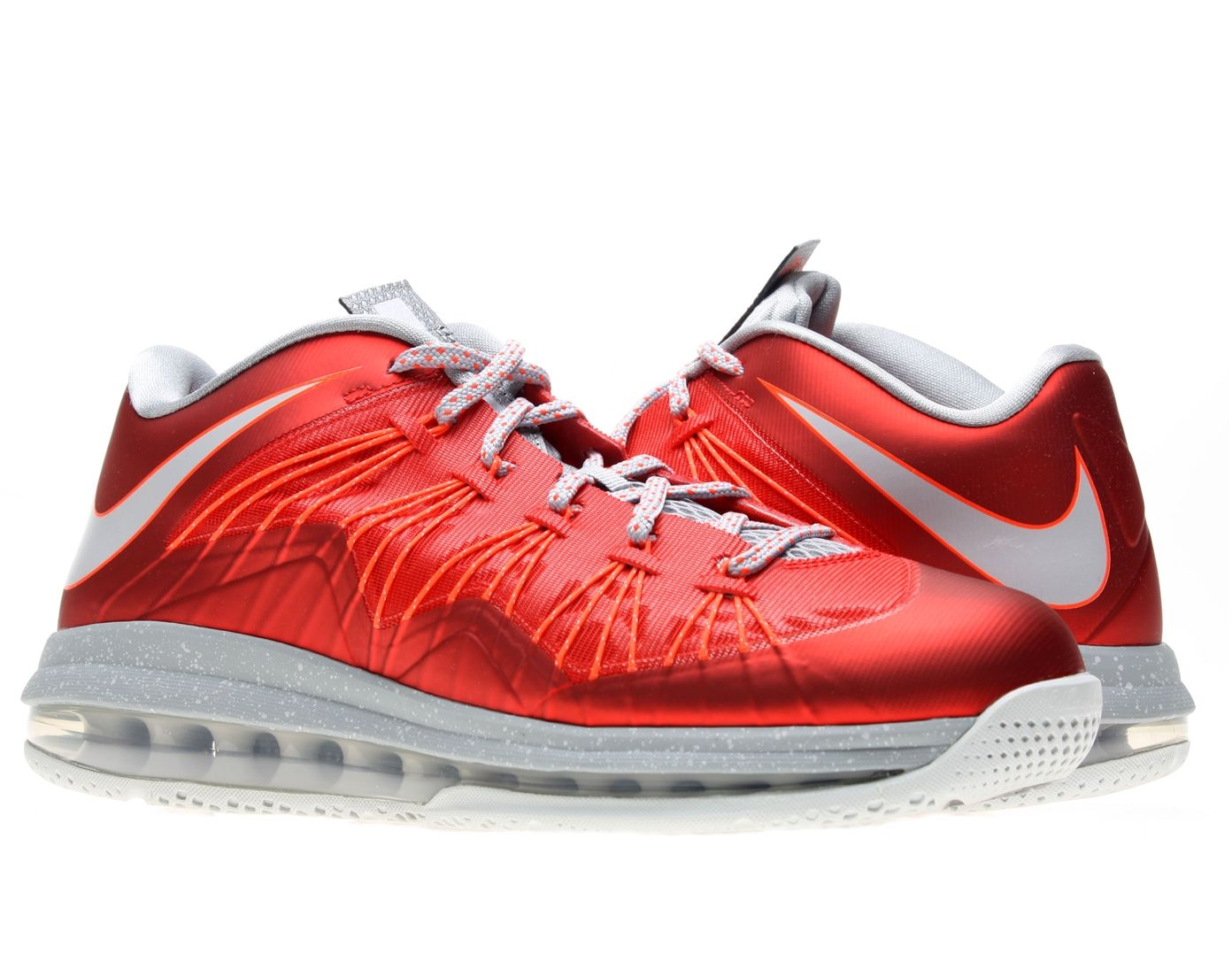 4c9ae518d20d Nike Air Max Lebron X 10 Elite   Low Basketball Shoes  Sneakers Red ...
