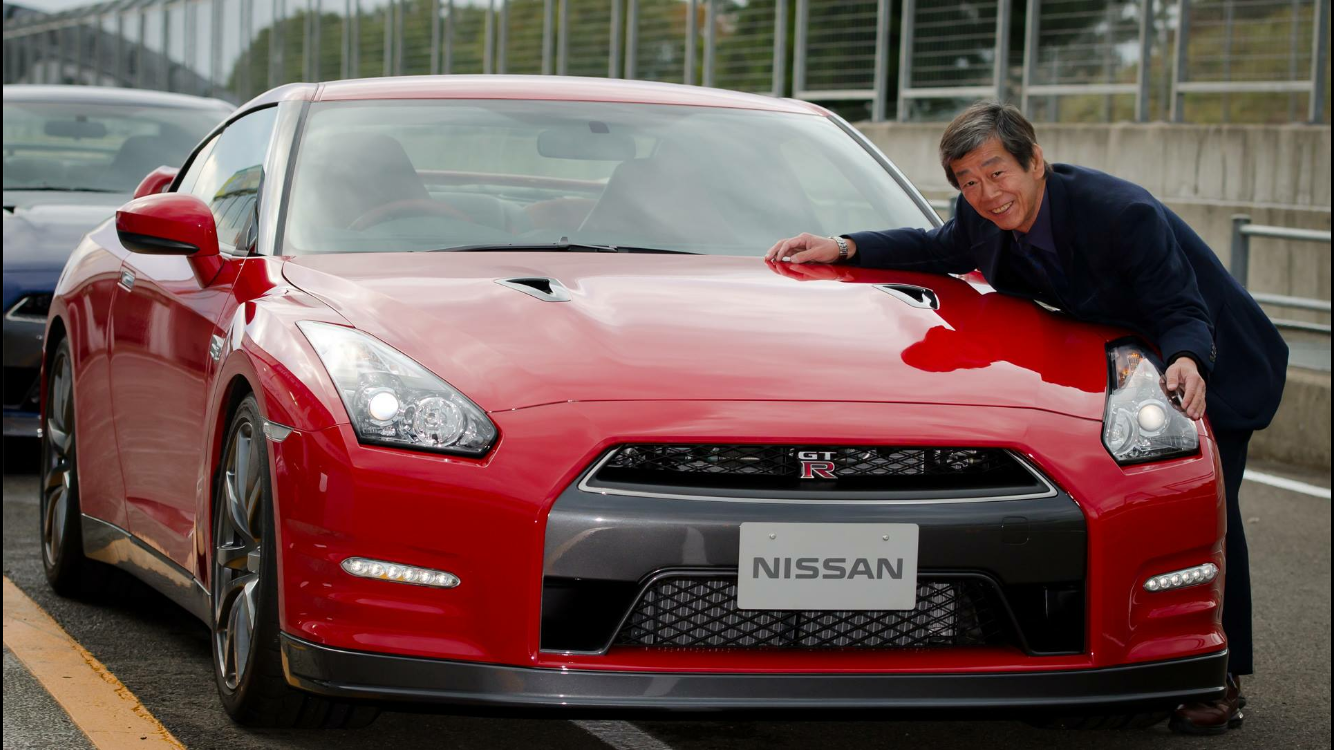 Mizino san creator of the gt r