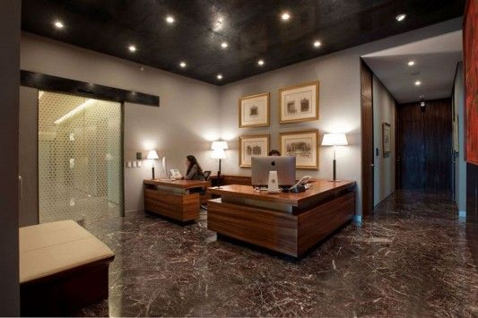 Glamour and Naturally ACBC office interior secretary room design ...