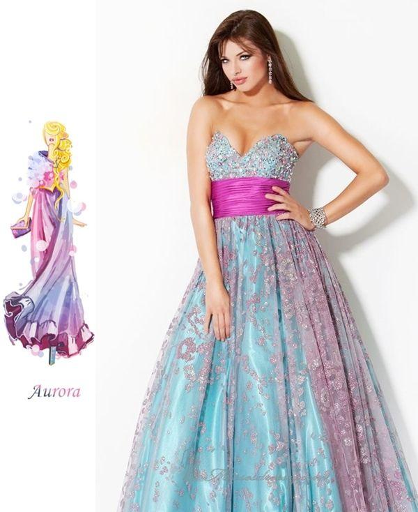 Disney Princess Inspired Prom Dresses   To be, Disney and Mulan ...
