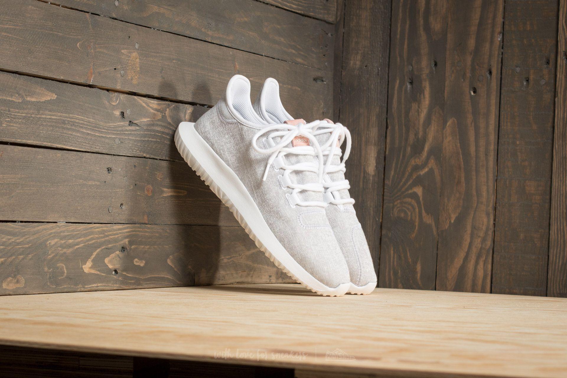 adidas tubuläre schatten w ftw weiß / grau / weiß in zwei große ftw
