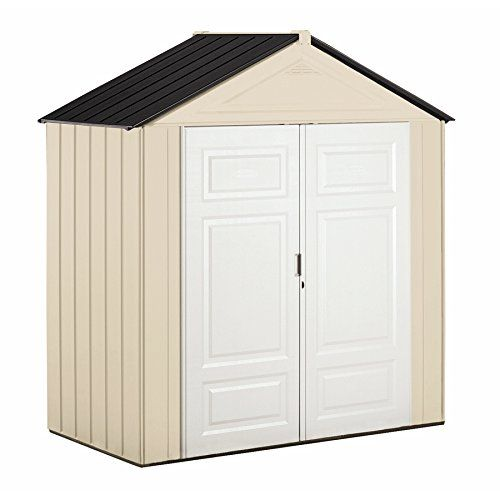 Amazon Com Rubbermaid Big Max Junior Storage Shed 7 Foot By 3 1