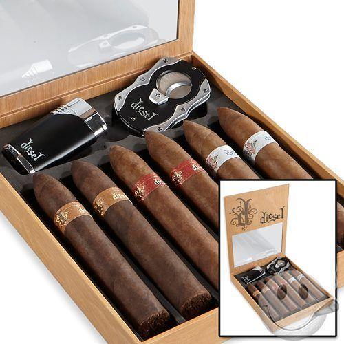 diesel sler 6 pack gift set cigars international cigars