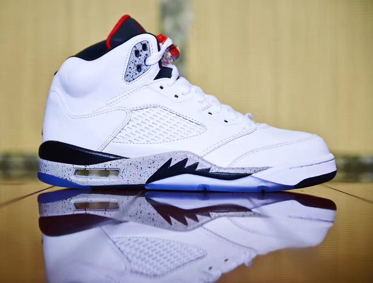 quality design c3558 7d8ad Air Jordan 5 White Cement Release Date 136027-104 | Detroit ...