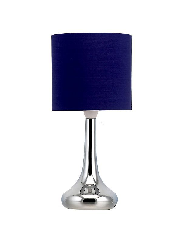 Navy blue table lamp for the home pinterest living rooms navy blue table lamp aloadofball Gallery