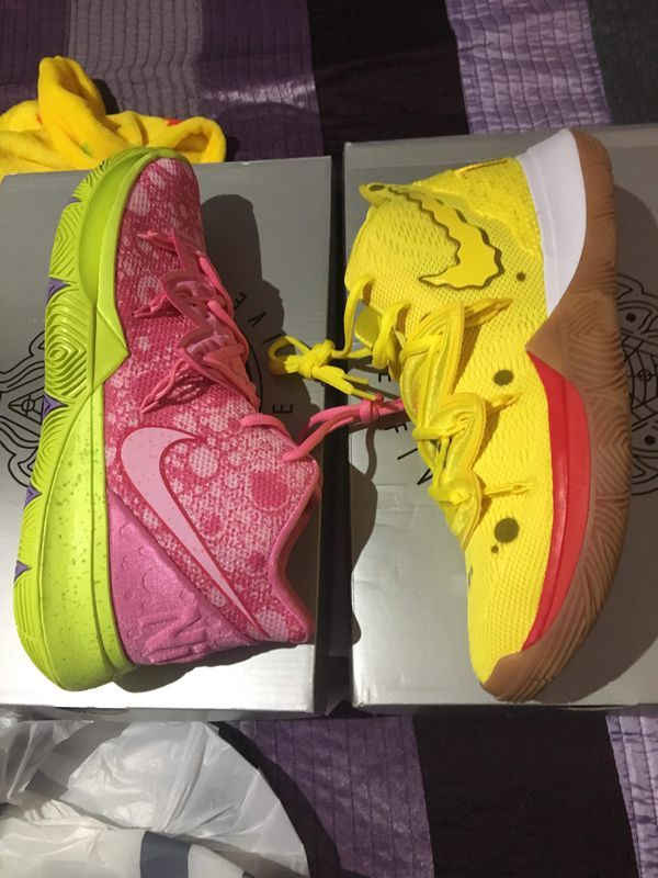 Kyrie Irving on His New Nike x SpongeBob Shoes and the Best