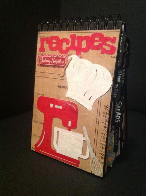 Diy Recipe Mini Book Craft Room Secrets Craft Room Secrets Blog