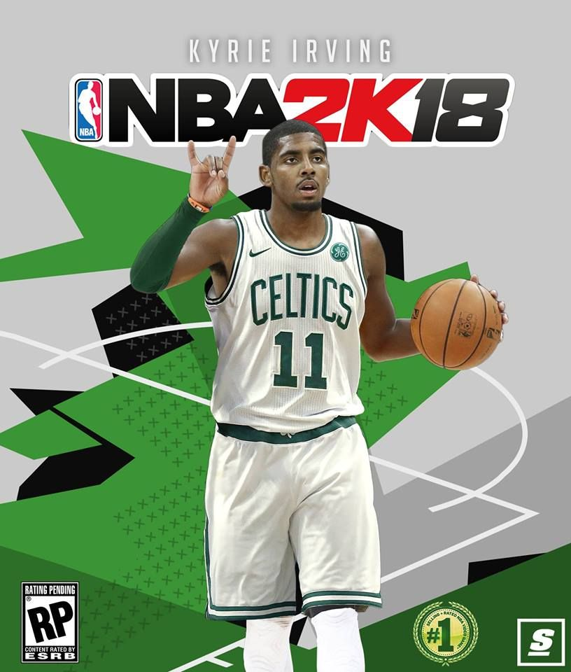 Nba 2k Is My Favorite Game To Play And This Is The First Year Since 08 To Have A Celtics Player Sports Memes Kyrie Sports Posters Basketball