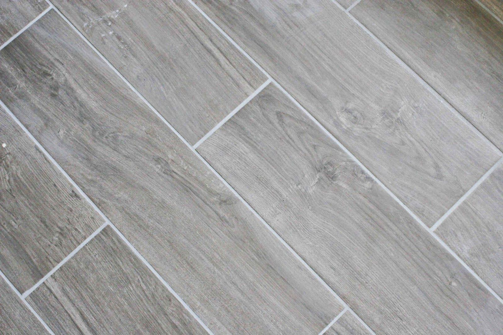Bathroom Renovation tile makeover Plank tile flooring