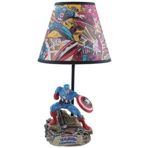 Exceptional Amazon.com: Captain America Lamp: Toys U0026 Games
