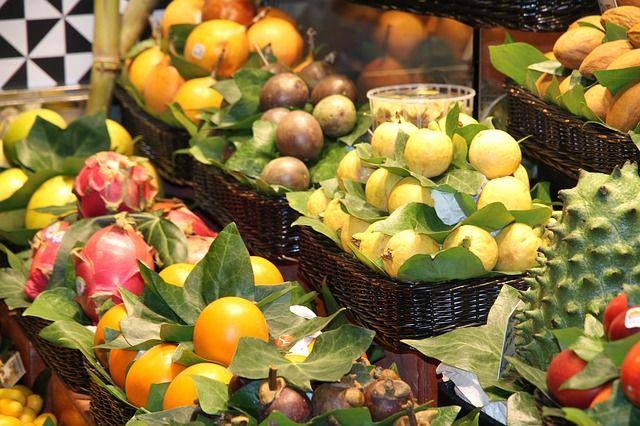 Obst, Vitamine, Gesundes Essen -