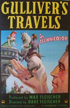 Gulliver's Travels (1939) USA Paramount Animated D: Dave Fleischer. Prod: Max Fleischer. 20/07/09