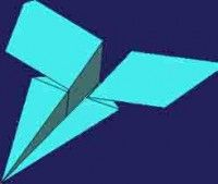 The Marling http://eng.origami-kids.com/paper-airplane/hunters/the-marling.htm  The Marling  The Paper Airplane The Marling. The Marling is a easy to Fold paper airplane. You need a paper sheet size Letter. This plane has Variations on the schoolyard specials that are fun to fold and fun to fly. This craft is what the kid in you wants. The Marlin is a variation on the classic dart is easy to fold and can be thrown very hard as a blackboard bomber should. This variation of a classic design…
