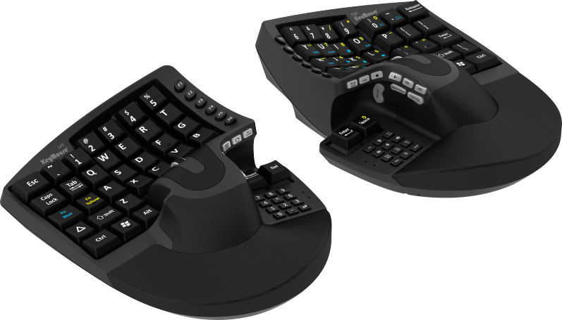 2e8fd8b30dd KeyMouse® - The Keyboard and Mouse Re-invented! | Ergonomic in 2019 ...