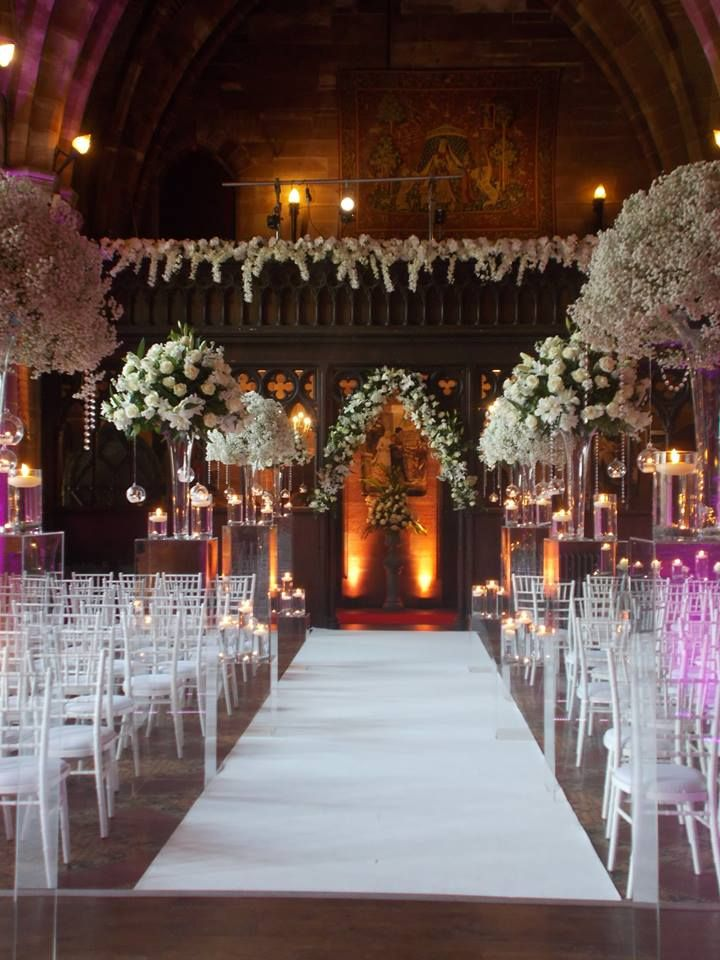 Wedding Ceremony In The Great Hall At Peckforton Castle Http Www