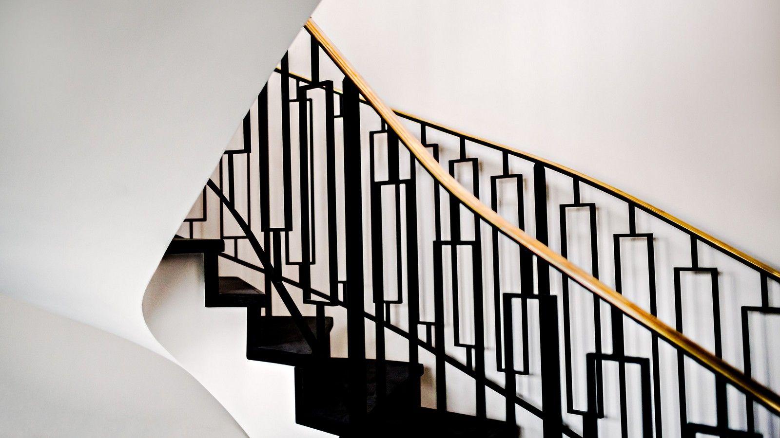 The Appartement Parisien | Art deco hotel, Staircase ...
