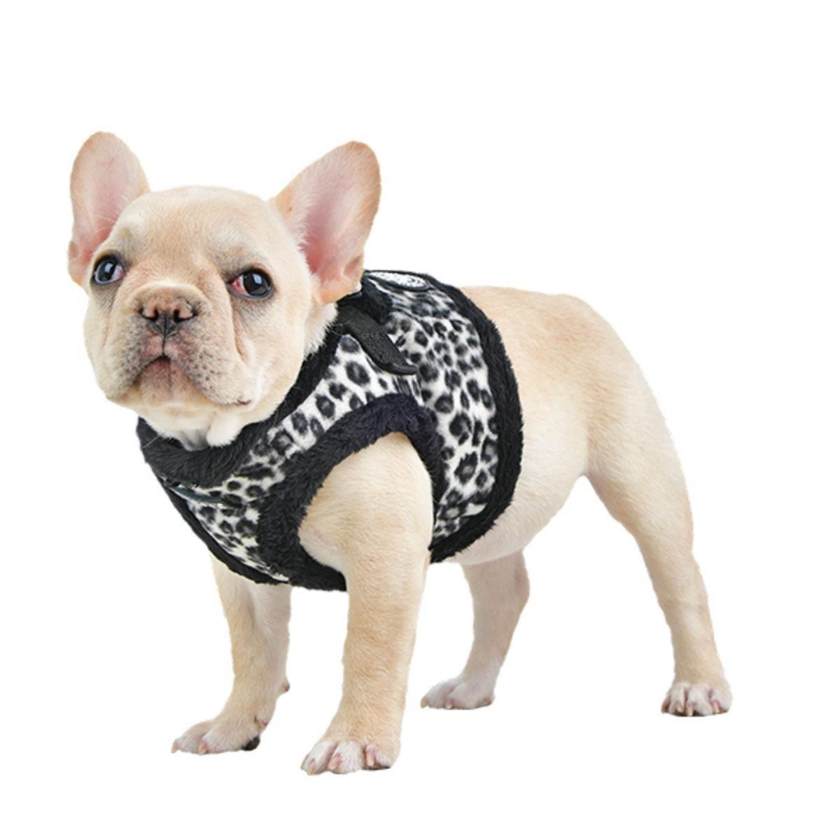 Leonard Vest Style Dog Harness By Puppia Black Dog Harness