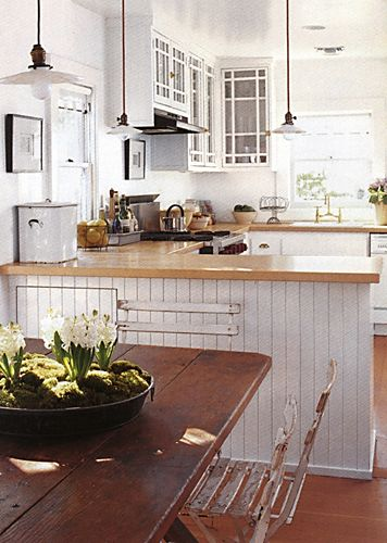 landelijk, den buiten, warm en huiselijk gevoel, wit combinatie met donker hout