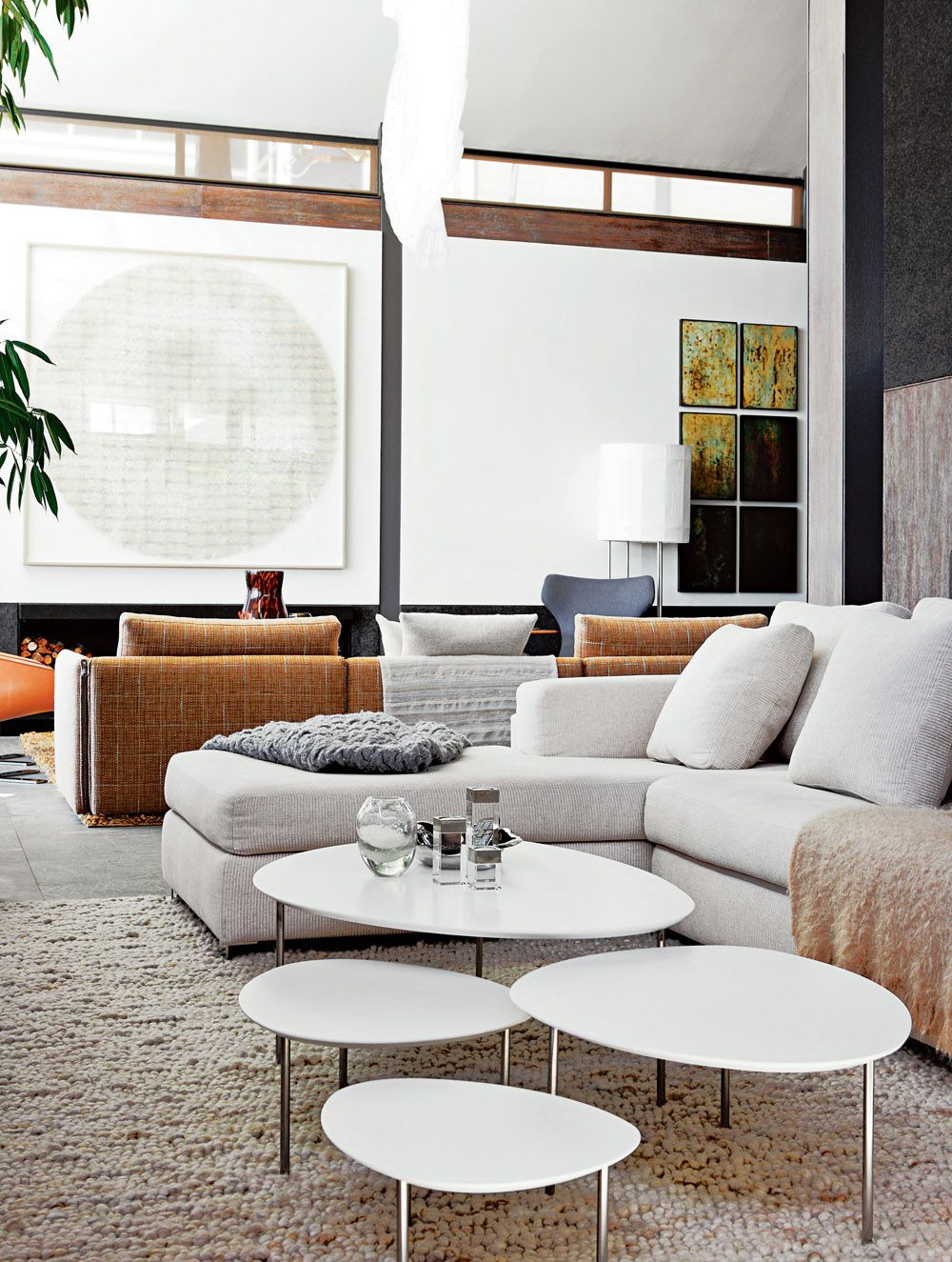Cape Town Waterfront House Living Room With STUA Eclipse Tables A Jon Gasca