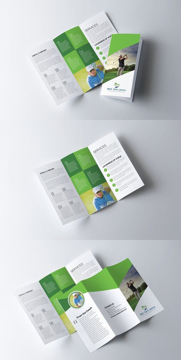 Business Trifold Brochure Template Brochure Template Brochures