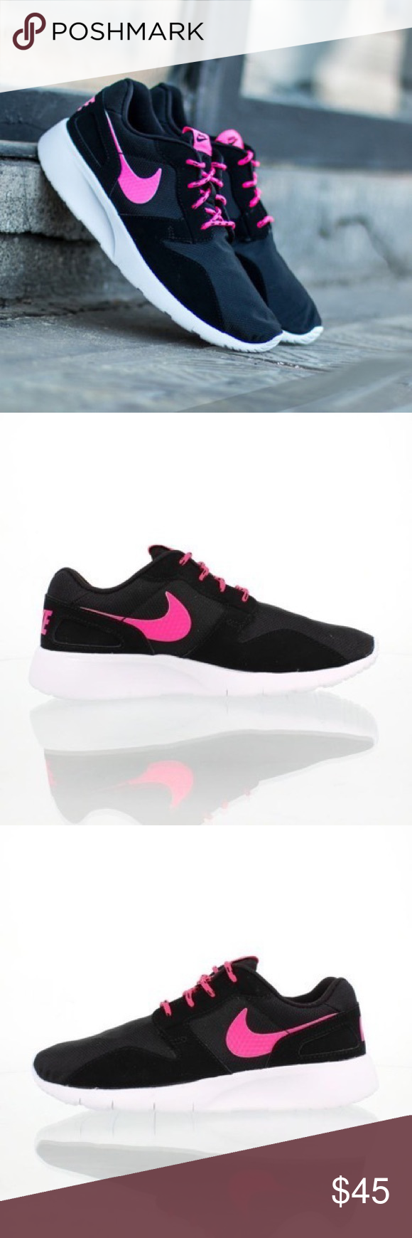 black and pink nike shoes sportswear brands charts 881161