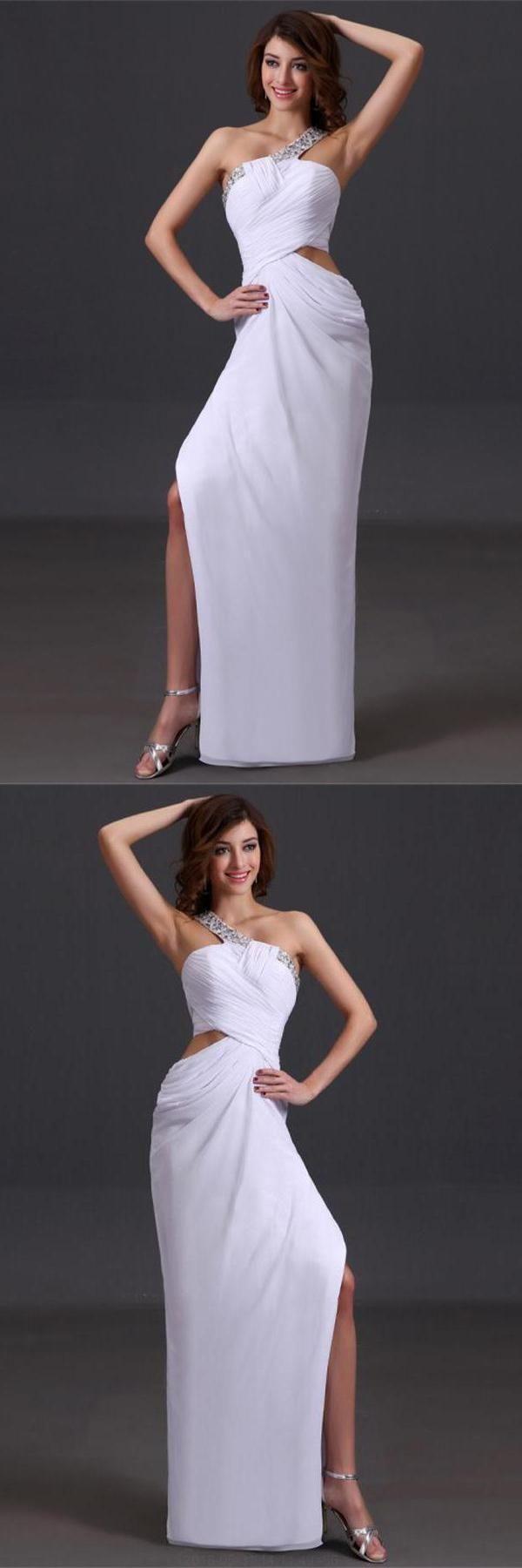 Silver prom dresses chiffon prom dresses long prom dresses prom