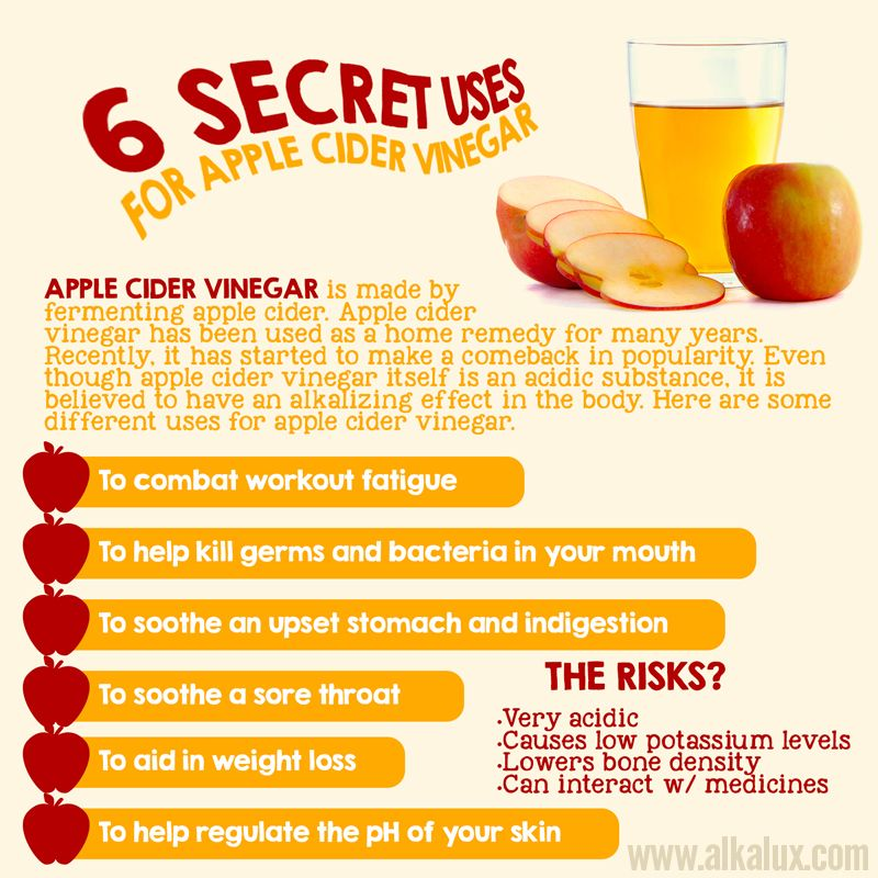 6 Secret Uses For Apple Cider Vinegar Visit Our Site: Http