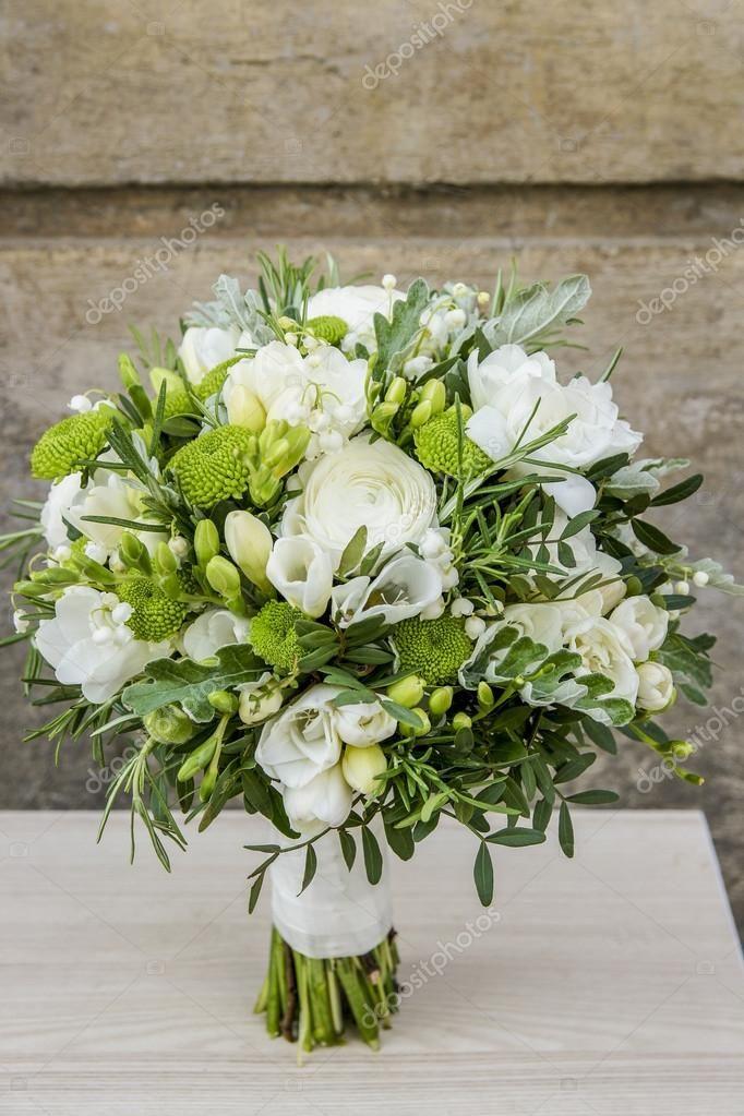 Bouquet Sposa Bianco E Verde.Bouquet Bianco E Verde Matrimonio Verde Bouquet Matrimonio
