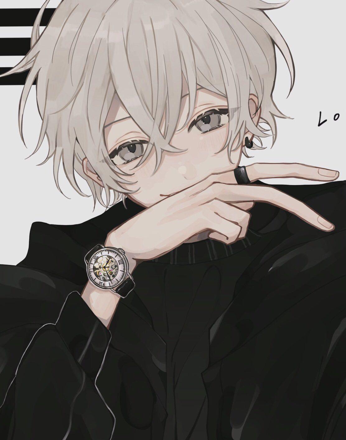 mayonakani かわいい男の子のアニメキャラ ダークなアニメ マンガアニメ