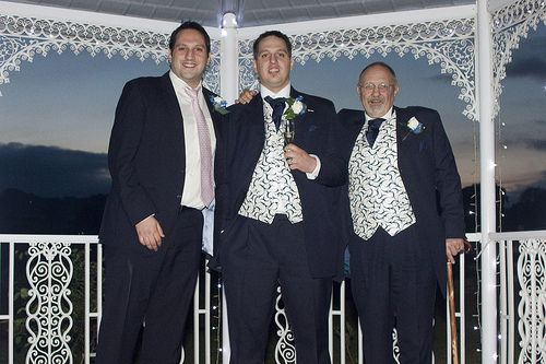 Father and sons#wedding #dress