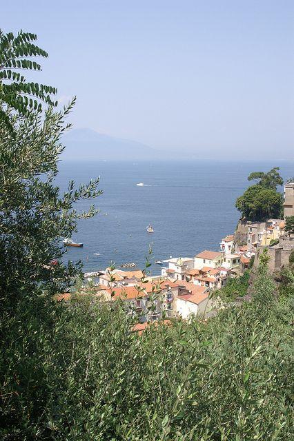 Sorrento and the Golfo di Napoli