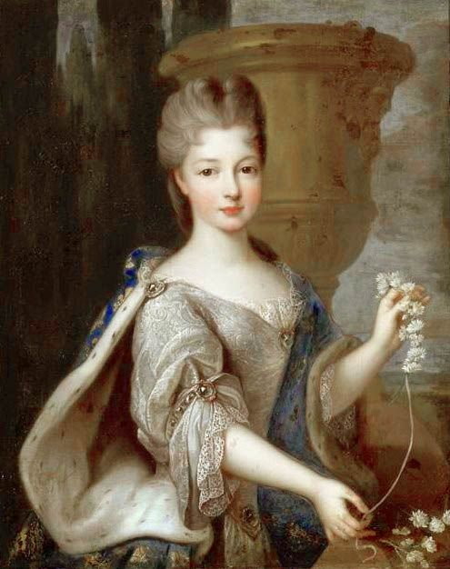 Pierre Gobert, Louise Élisabeth de Bourbon, princesse de Conti (1693-1775)