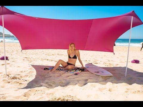 Ziggyshade Beach Sunshade Set Up Instructions Youtube