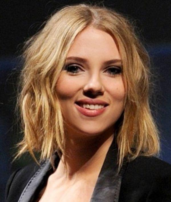 Scarlett Johansson Bob Haircut Well Done For For Shopping Sweet