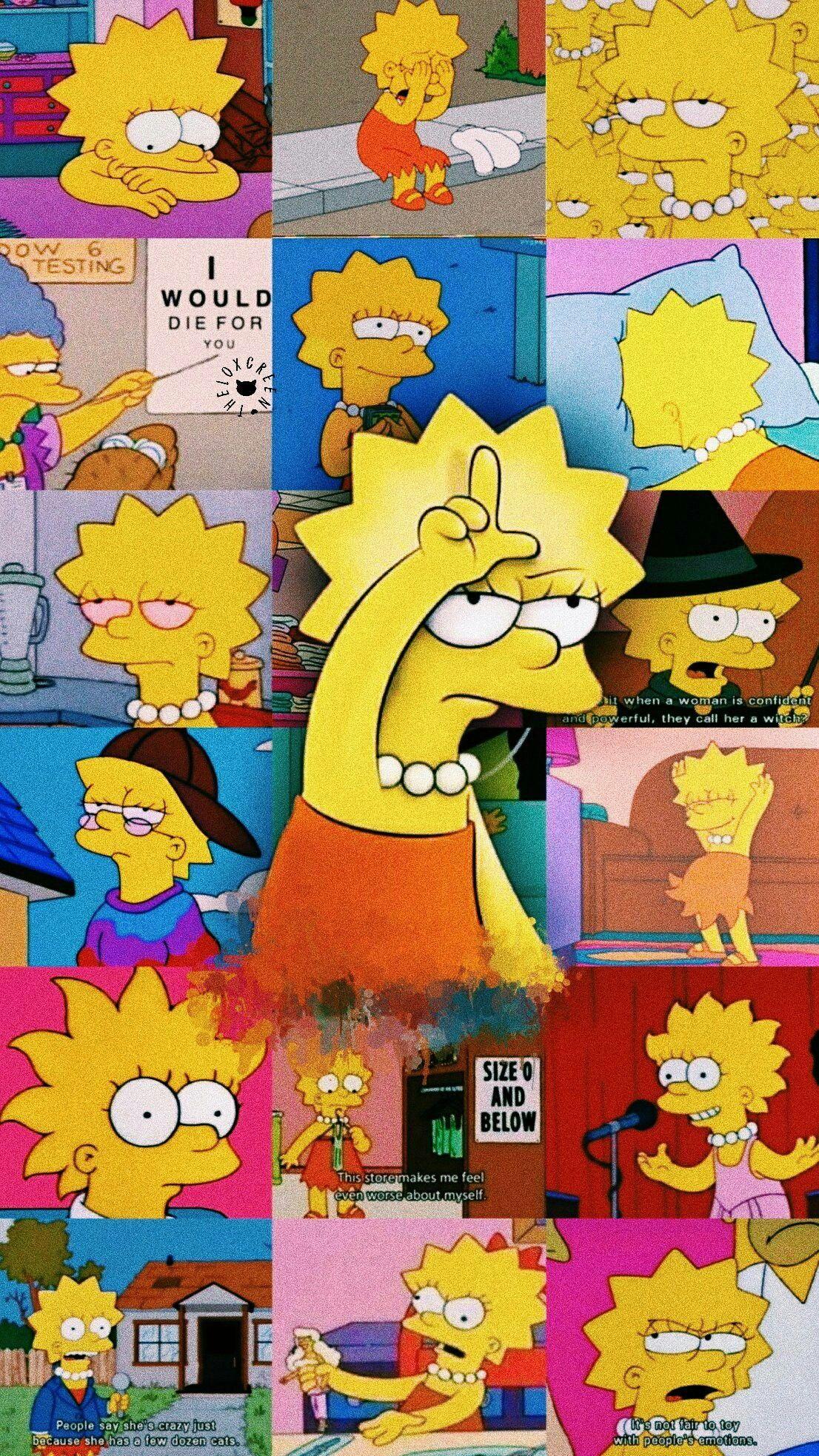 Lisa Simpson Wallpaper S Wallpaper Backgrounds Phone