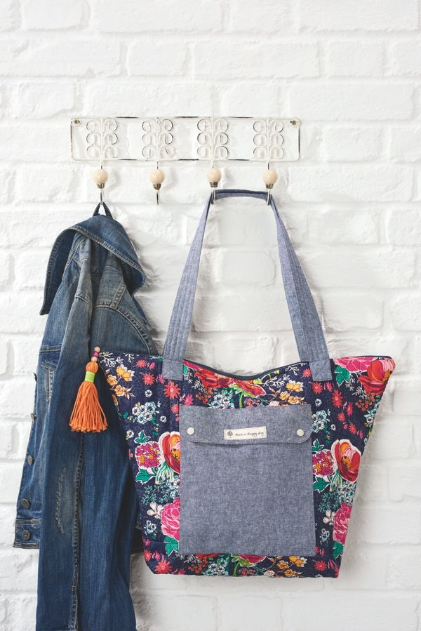 The Weekend Tote - if you sew one thing this weekend, make it this ...