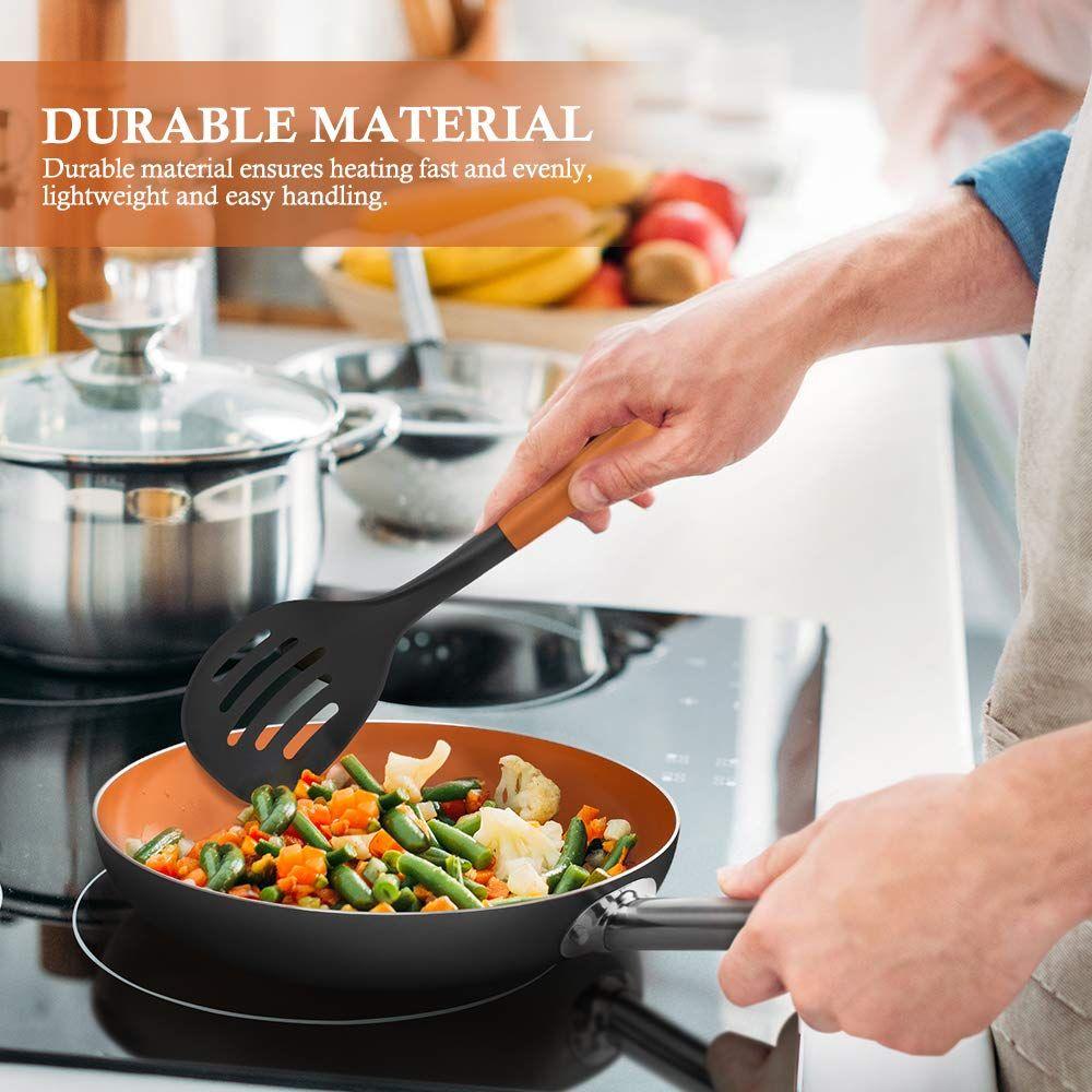 Shineuri Ceramic Copper Cookware Set 47.59! Copper