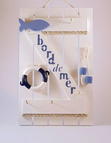 Volet Bord De Mer Accroche Cles Boite A Cles Deco Bord De Mer Idee De Decoration
