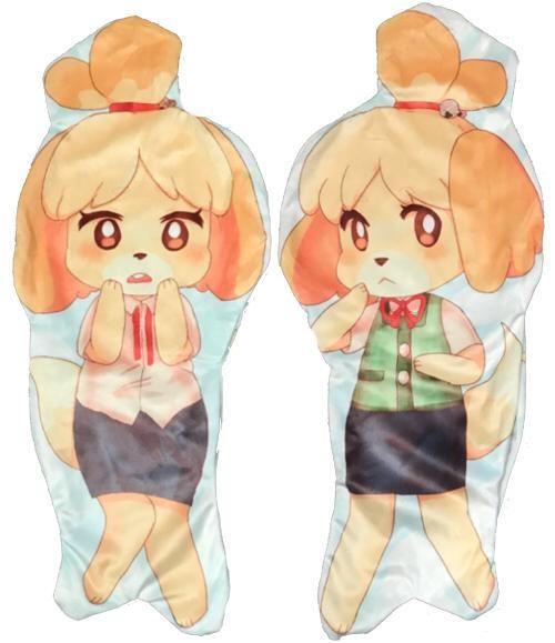 isabelle hug pillow