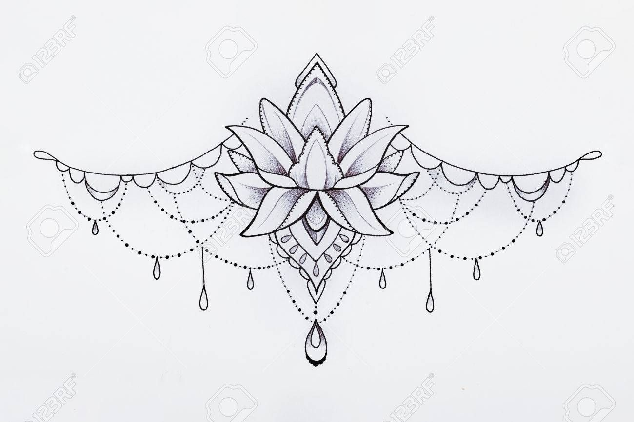 Painted Graphic Pendant On A White Background. Stock Photo, Picture And Royalty Free Image. Image 66659158.