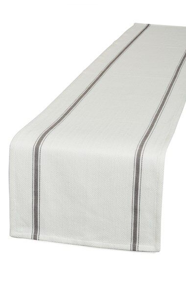 Nordstrom at Home Nordstrom at Home Herringbone Table Runner available at #Nordstrom