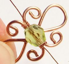 Wire Wrapping Tutorial - pictures look easy to follow