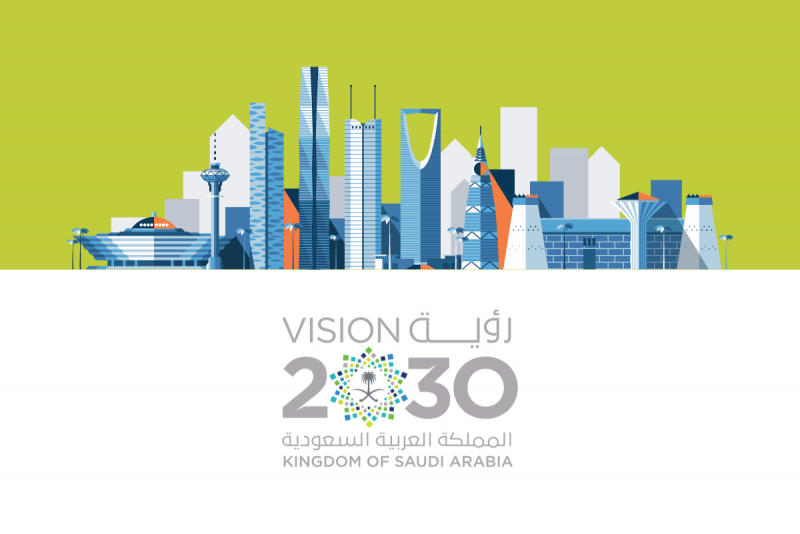 بحث رؤية 2030 في ظل اليوم الوطني 89 مجلة رجيم Bar Chart Saudi Arabia Chart