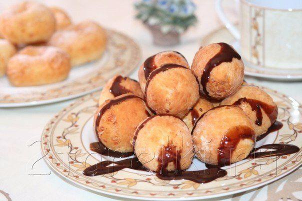 Новости Творожные шарики и пончики