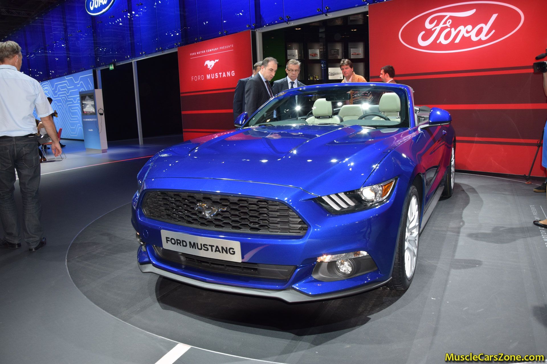 Motor Show 2015 Singapore 2015 Ford Mustang Convertible 2014