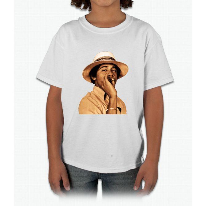 young obama smoke classic Young T-Shirt